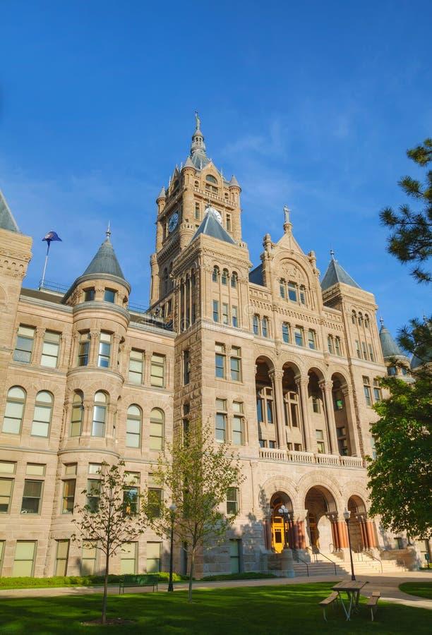 Edifício de Salt Lake City e de condado fotos de stock