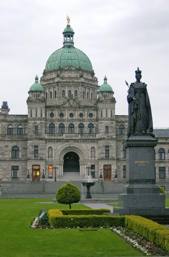 Edifício de Victoria Parlament imagens de stock
