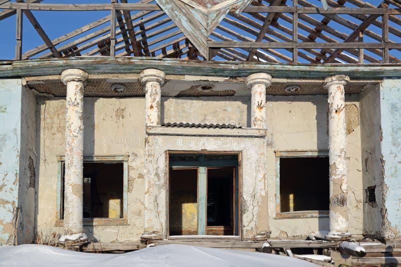 Edifício destruído foto de stock royalty free