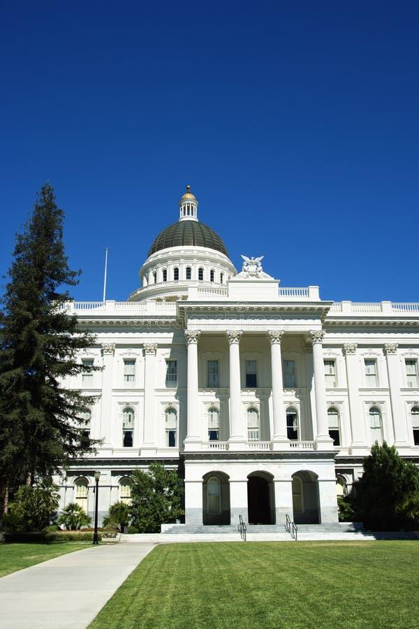 Edifício do Capitólio de Sacramento. foto de stock royalty free