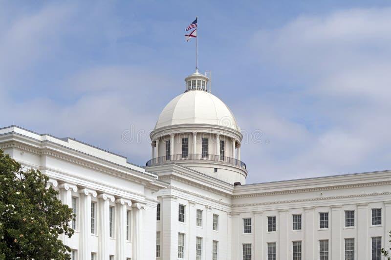 Edifício do Capitólio do estado de Alabama imagem de stock