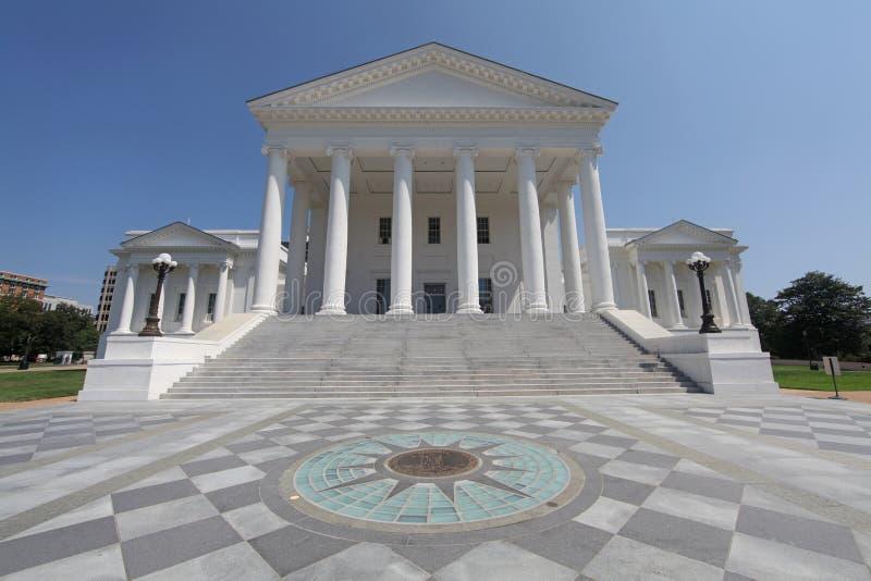 Edifício do Capitólio do estado de Virgínia foto de stock