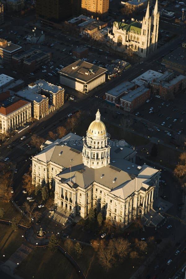 Edifício do Capitólio do estado, Denver, Colorado. foto de stock