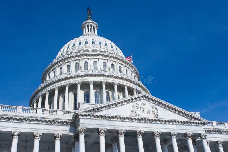 Edifício do Capitólio dos E.U. no Washington DC fotografia de stock