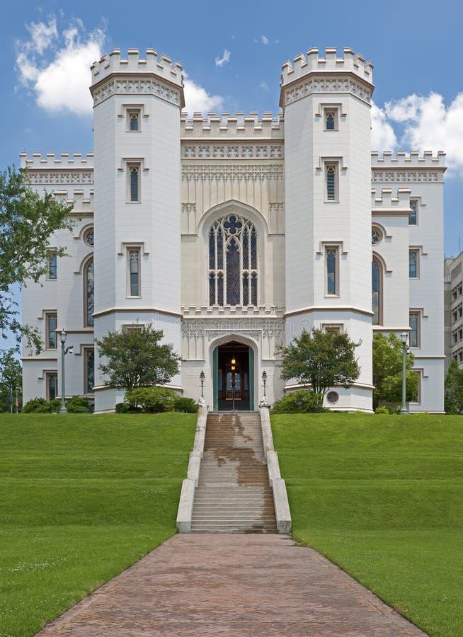 Edifício do Capitólio em Baton Rouge Louisiana imagem de stock royalty free