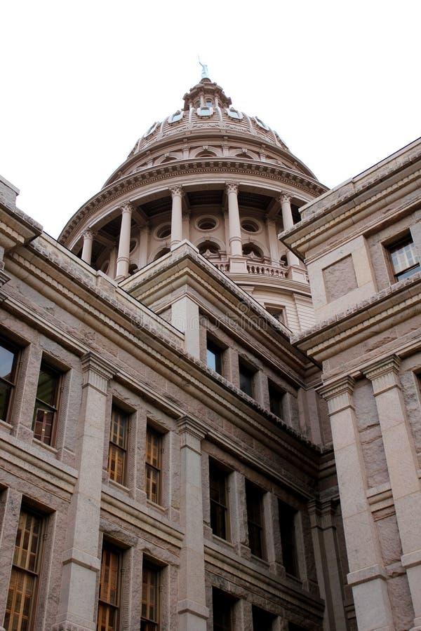Edifício do Capitólio do estado de Texas em Austin imagens de stock royalty free