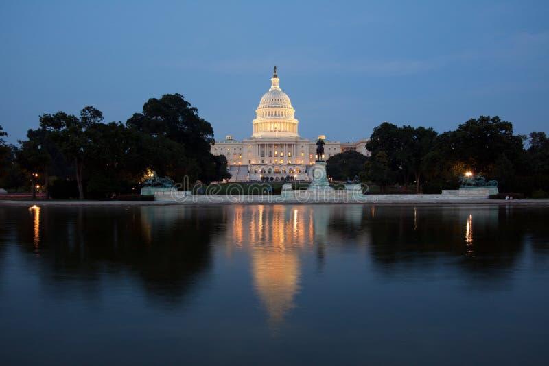 Edifício do Capitólio, Washington DC foto de stock