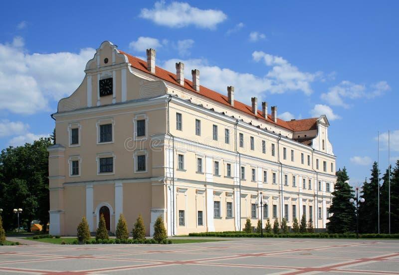 Edifício do collegium do jesuíta foto de stock