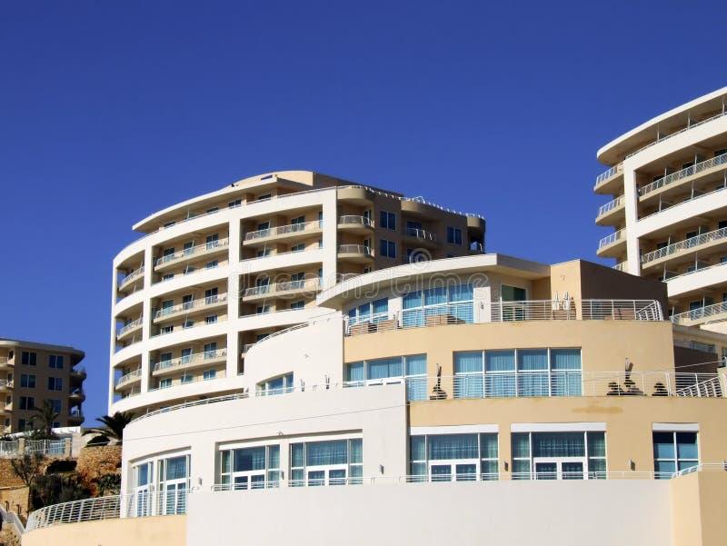 Edifício do hotel imagens de stock