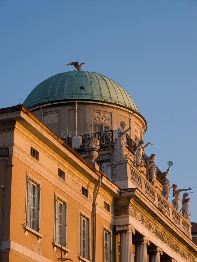 Edifício do palácio foto de stock royalty free
