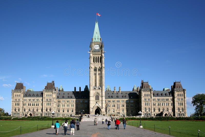 Edifício do parlamento de Canadá foto de stock royalty free