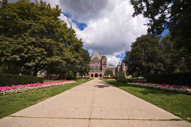 Edifício Do Parlamento De Ontário Fotografia de Stock