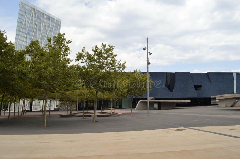 Edifício em Barcelona imagens de stock royalty free