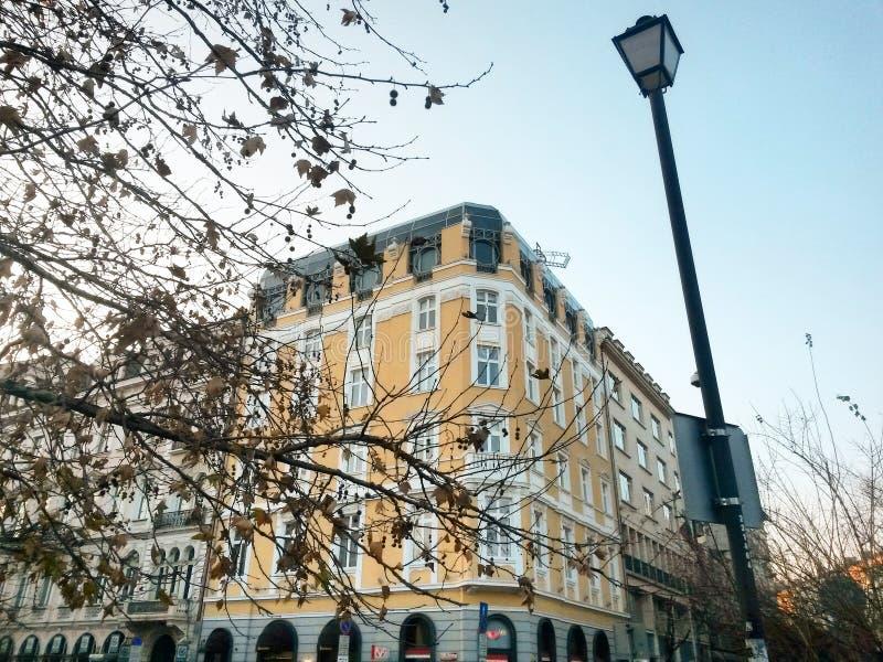 Edifício em Bulgária imagens de stock