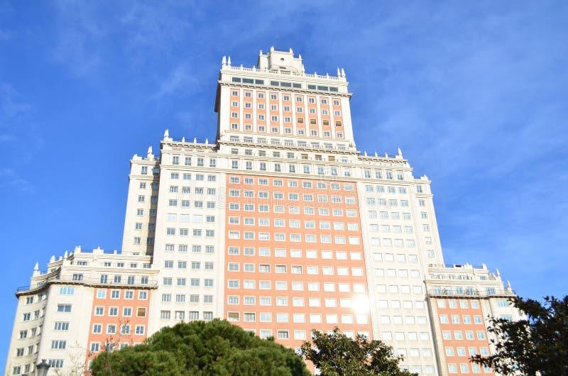 Edifício em Plaza de Espana imagens de stock