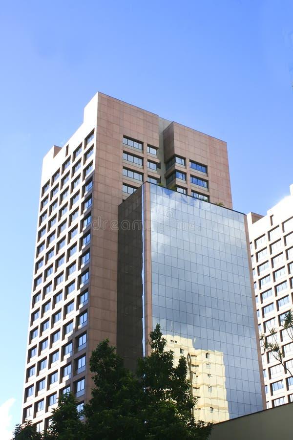 Edifício em Sao Paulo da baixa foto de stock