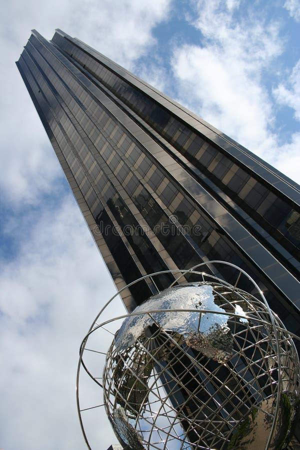 Edifício global fotografia de stock royalty free