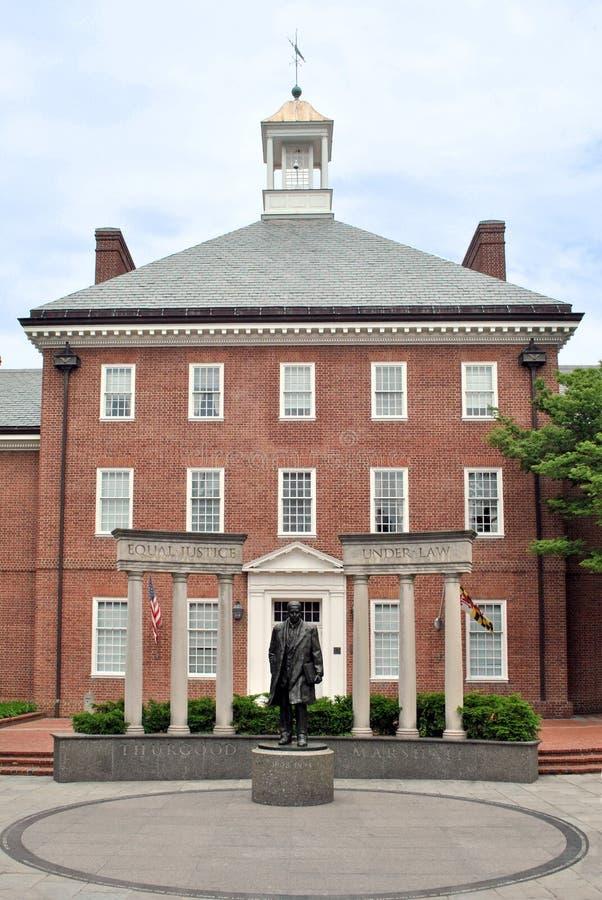 Edifício histórico em Annapolis, Maryland fotos de stock
