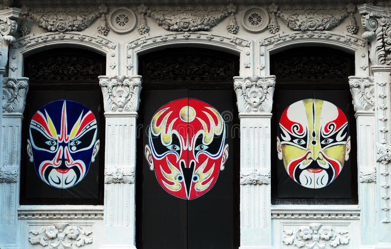 Edifício histórico em Singapore imagem de stock