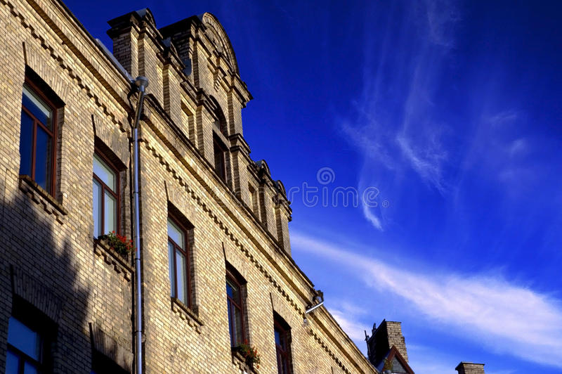 Edifício histórico velho fotografia de stock