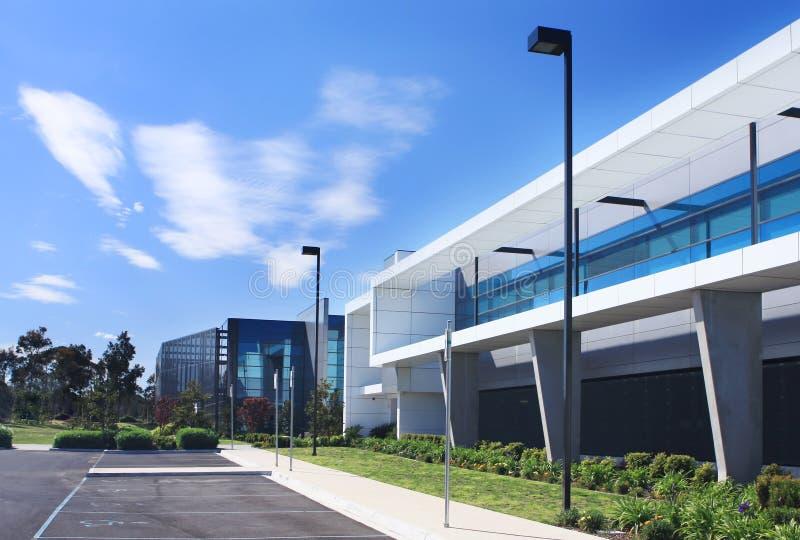 Edifício industrial imagem de stock royalty free