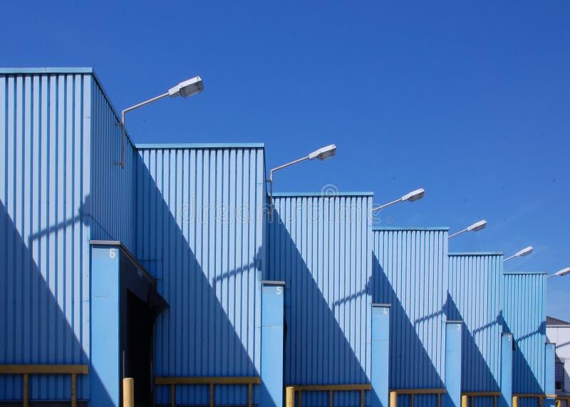 Edifício industrial fotos de stock