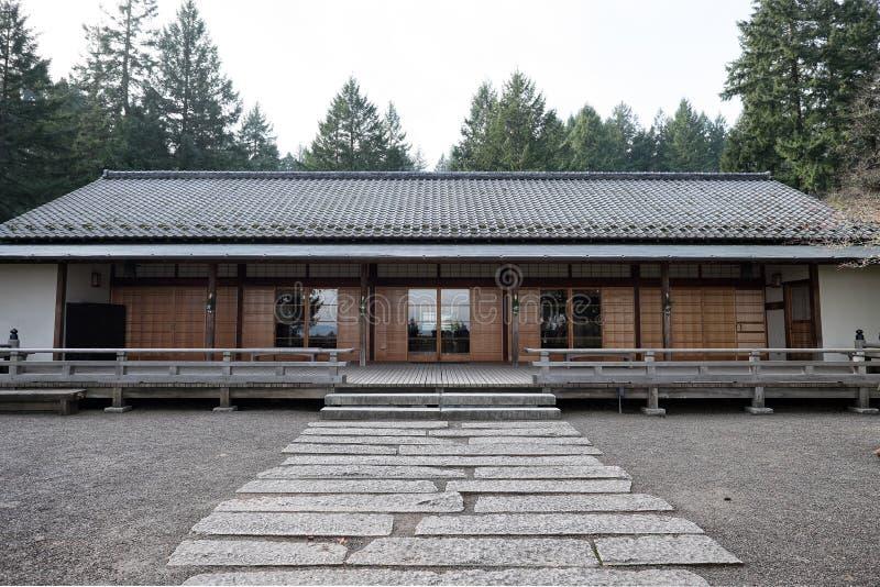 Edifício japonês imagem de stock