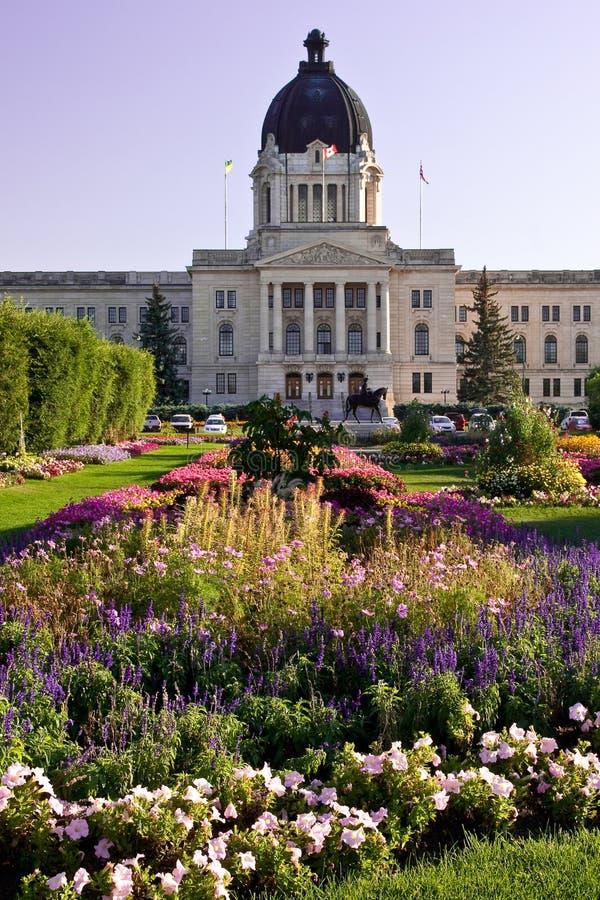 Edifício legislativo de Saskatchewan fotografia de stock royalty free