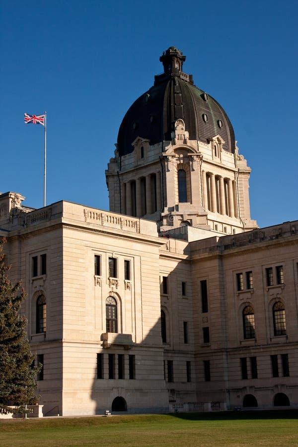 Edifício legislativo de Saskatchewan fotos de stock royalty free