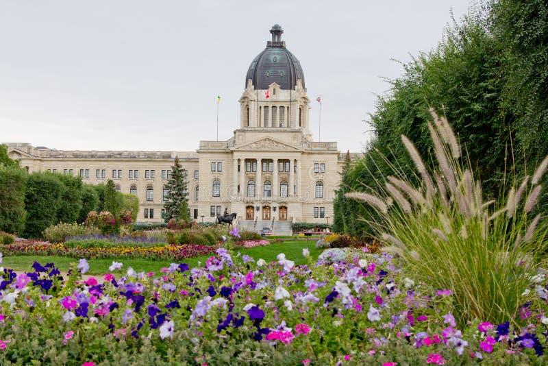 Edifício legislativo de Saskatchewan foto de stock
