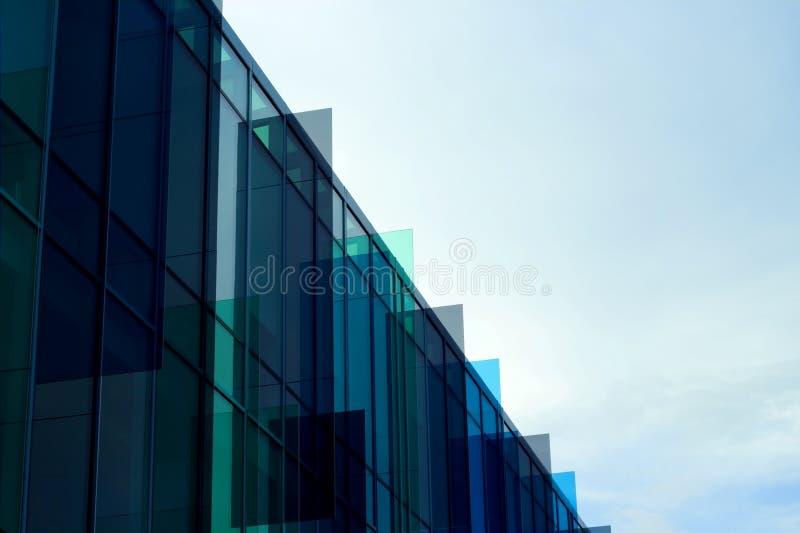 Edifício lustroso imagem de stock