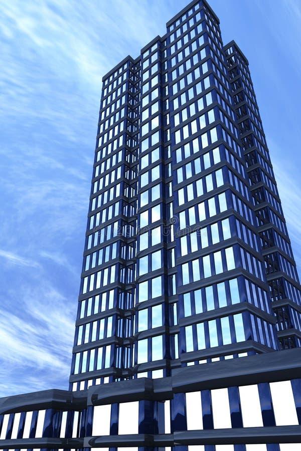 Edifício moderno, dianteiro