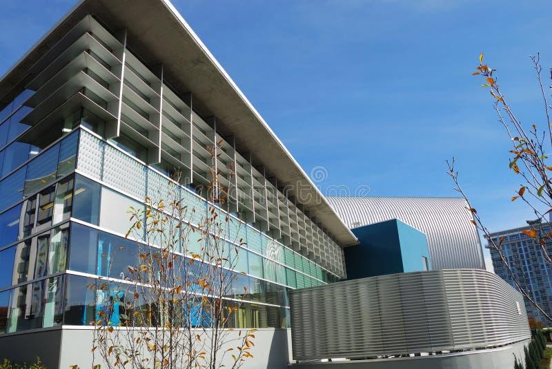 Edifício moderno em Charlotte, NC fotos de stock royalty free