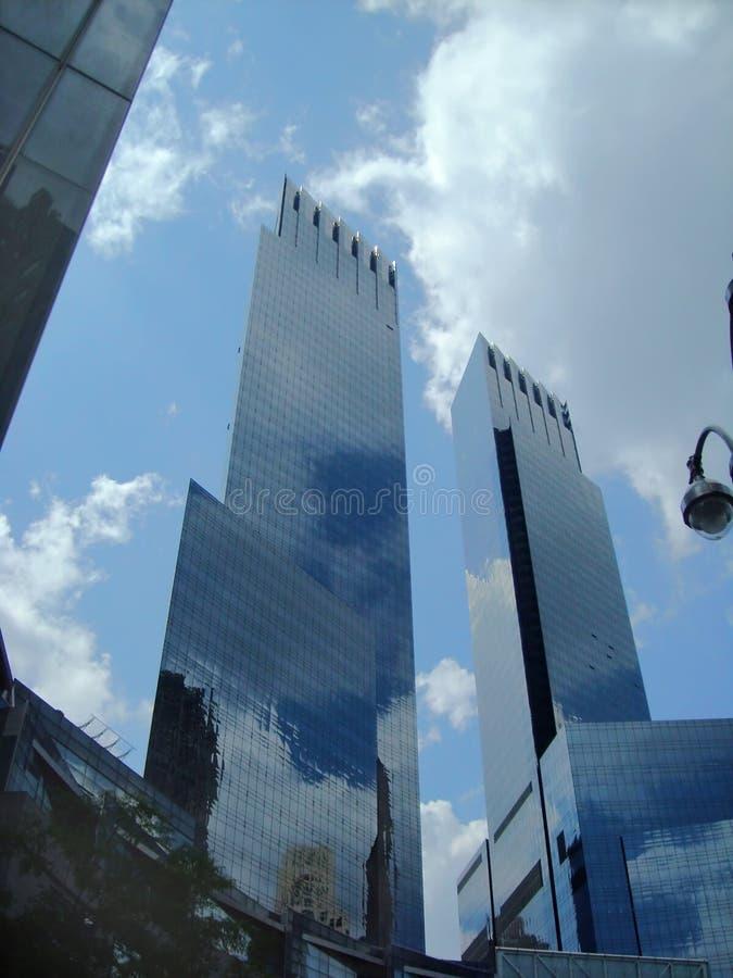 Edifício New York de Time Warner foto de stock