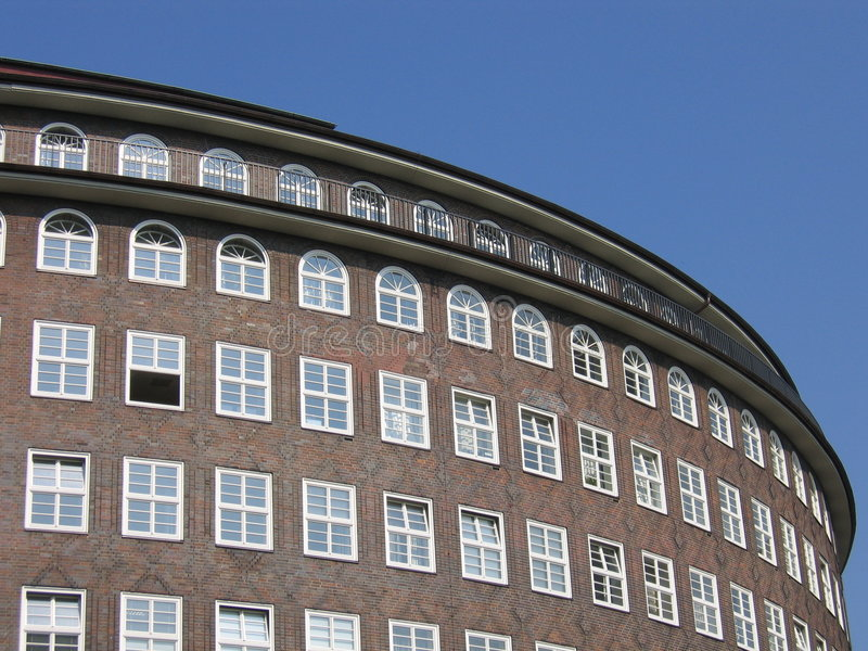 Edifício Redondo Fotografia de Stock Royalty Free