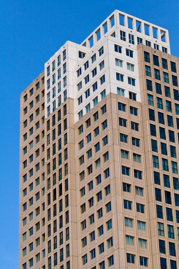 Edifício residencial moderno fotografia de stock