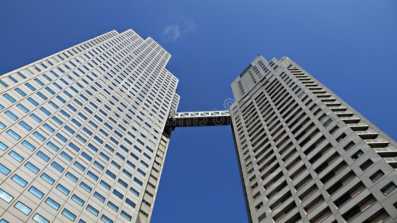 Edifício up-stair moderno imagem de stock