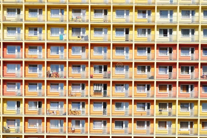 Edifício urbano, teste padrão da casa imagem de stock