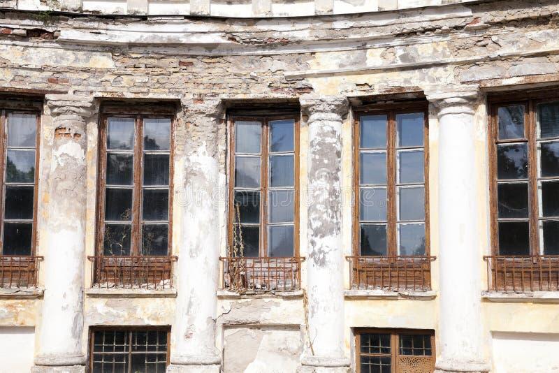 Edifício velho abandonado imagem de stock royalty free