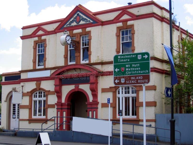 Edifício Velho Em Nova Zelândia Fotos de Stock