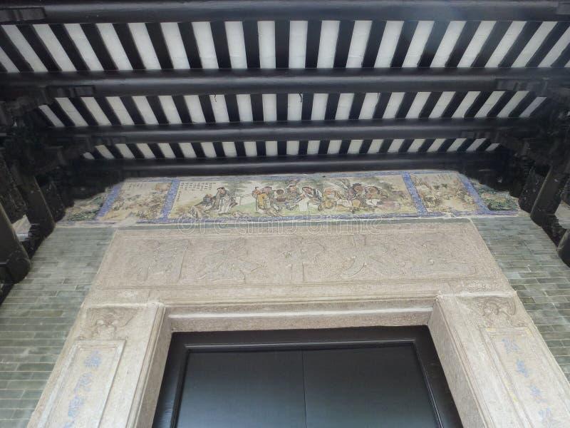 Edifícios antigos chineses fotos de stock