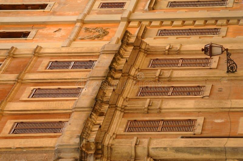 Edifícios antigos em Roma, italy fotos de stock royalty free