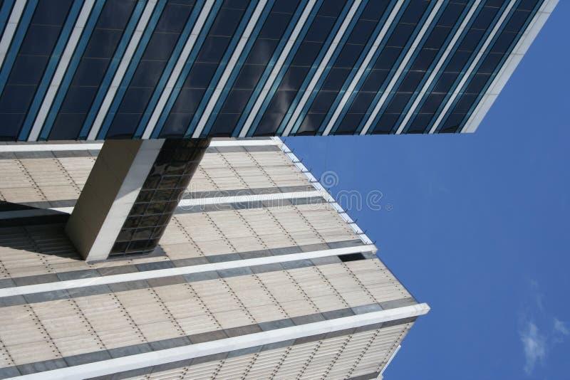 Edifícios conectados foto de stock