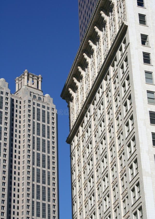 Edifícios da cidade fotos de stock royalty free