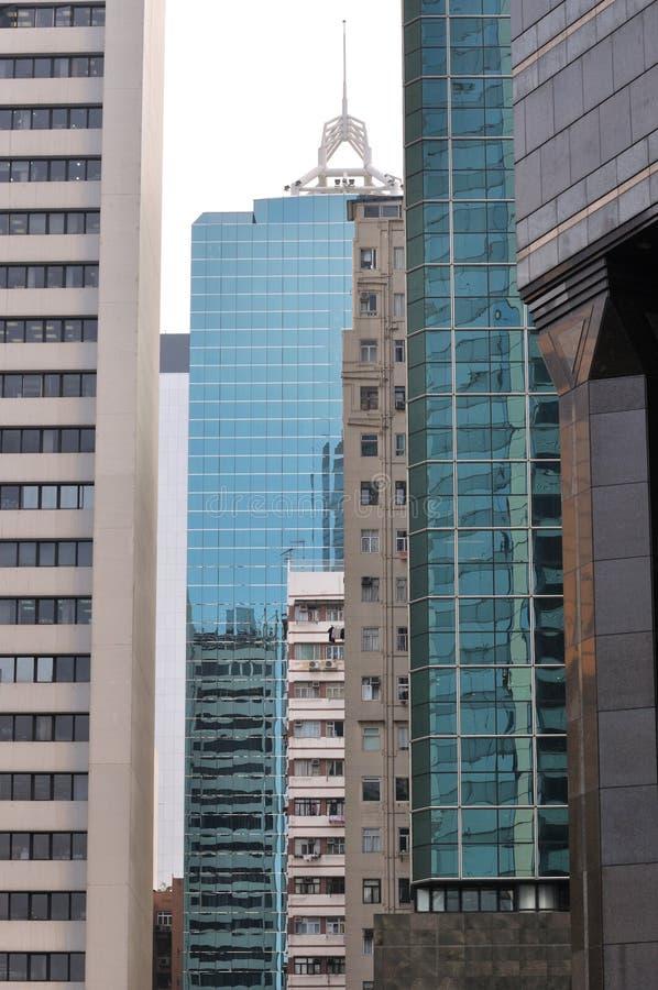 Edifícios da cidade na hierarquia