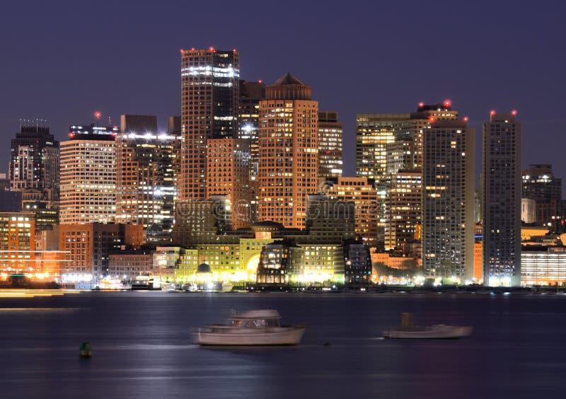Edifícios de Boston fotografia de stock royalty free