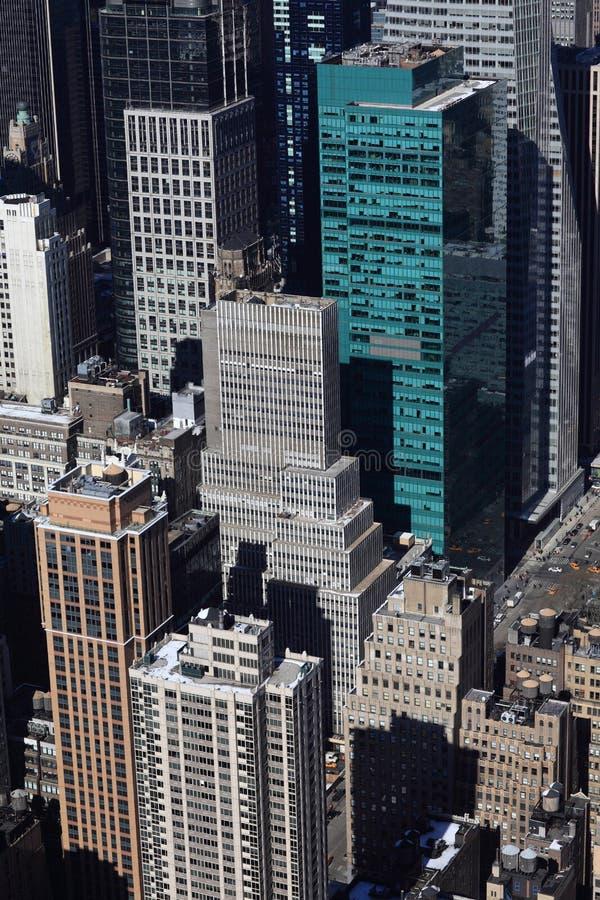 Edifícios de New York fotos de stock