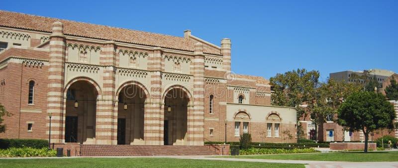 Edifícios do campus universitário fotos de stock
