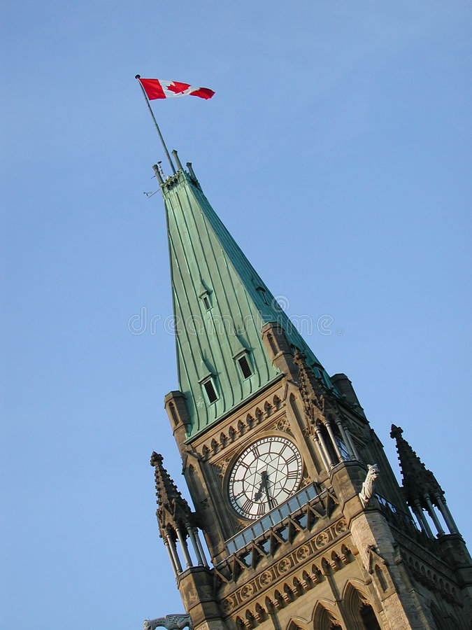 Edifícios do parlamento fotografia de stock