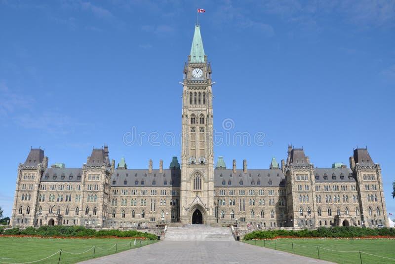 Edifícios do parlamento, Ottawa, Canadá imagens de stock royalty free